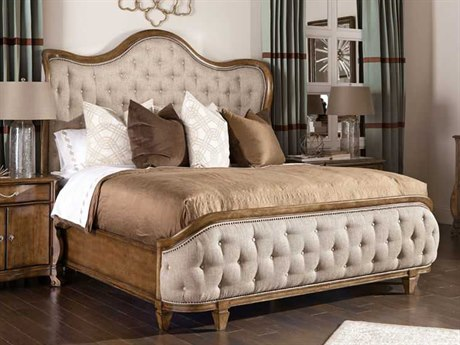 A.R.T. Furniture Continental Weathered Nutmeg California King Size Shelter Bed AT2371272624