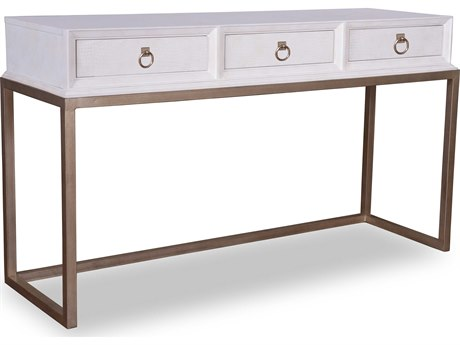 A.R.T. Furniture Cosmopolitan White 60''L x 20''W Rectangular Console Table AT2083071817