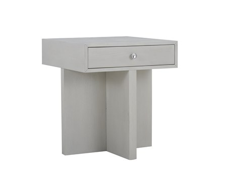 A.R.T. Furniture Epicenters 33127 Gray Wash 24'' Wide Square End Table