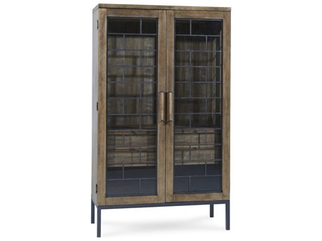 A.R.T. Furniture Epicenters Reclaimed Pallet China Cabinet