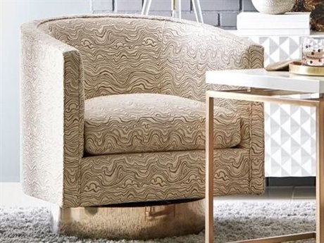 A.R.T. Furniture Epicenters Soft Gold Swivel Accent Chair AT5315165126AA