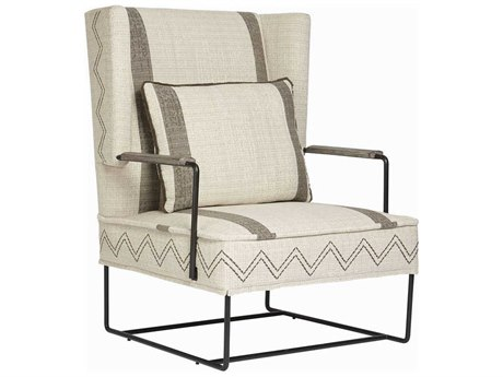 A.R.T. Furniture Epicenters Austin Wing Dark Pipe Accent Chair AT5355195001AA