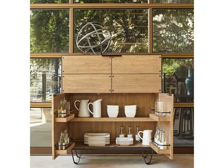 A.R.T. Furniture Epicenters Austin Georgetown Natural Bar Cabinet