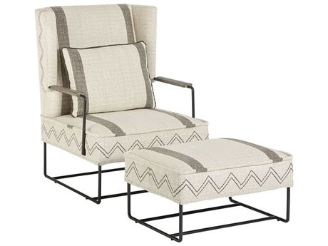 A.R.T. Furniture Epicenters Austin Wing Chair and Ottoman Set