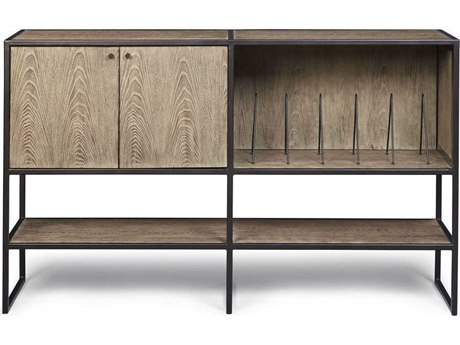 A.R.T. Furniture Epicenters Austin Waterloo Wire Brushed 60''L x 18''W Rectangular Console Table AT2354242839