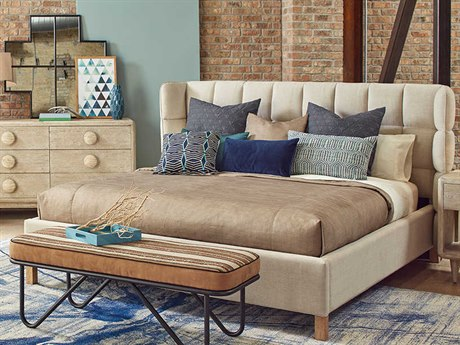 A.R.T. Furniture Epicenters Austin Natural Queen Panel Bed