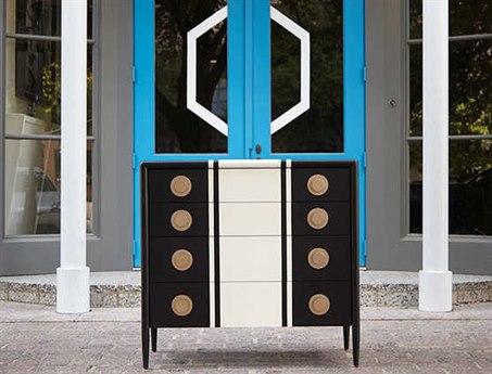 A.R.T. Furniture Epicenters Austin Leander Black Two-Tone Four Drawers Single Dresser AT2351322618