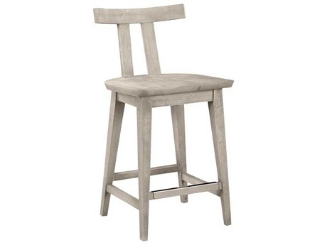 A.R.T. Furniture Epicenters Dry Gray Side Bar Height Stool AT3312082839BL