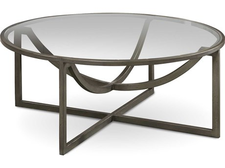 A.R.T. Furniture Epicenters Pot Metal 40'' Wide Cocktail Table AT2233111251