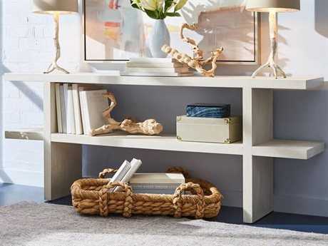 A.R.T. Furniture Epicenters Gray Wash 72'' Wide Rectangular Console Table AT3313072623