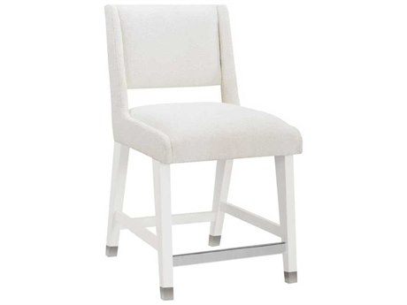 A.R.T. Furniture Epicenters Gloss White Side Counter Height Stool