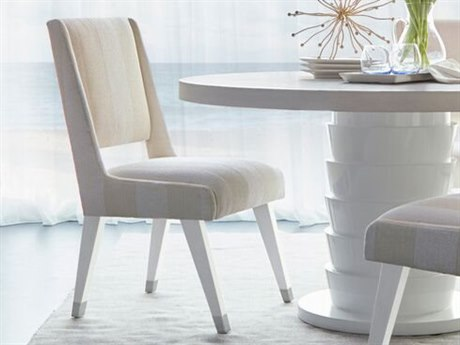 A.R.T. Furniture Epicenters Gloss White Side Dining Chair AT3312002617