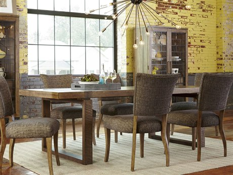 A.R.T. Furniture Epicenters Reclaimed Pallet 83''L x 41''W Rectangular Dining Table AT2232202302