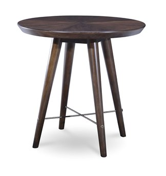 A.R.T. Furniture Epicenters Mid-Century Walnut 26'' Wide Round End Table AT2233031812