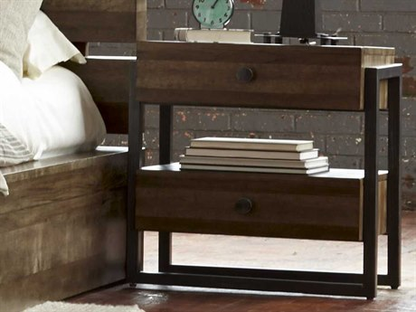 A.R.T. Furniture Epicenters Reclaimed Pallet 20''W x 24''D Rectangular Nightstand AT2231402302