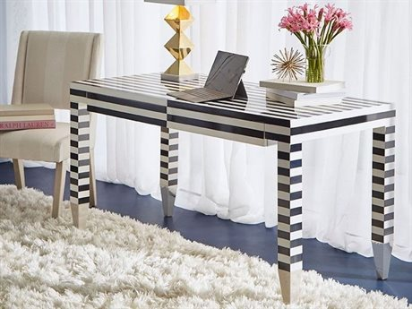 A.R.T. Furniture Epicenters Black & White Secretary Desk AT3314212618