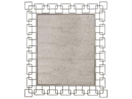 A.R.T. Furniture Epicenters Pot metal 50''W x 42''H Rectangular Wall Mirror AT2231201251
