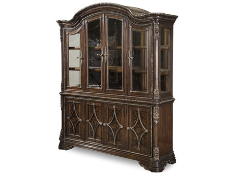 A.R.T. Furniture Gables 18th Century Cherry China Cabinet