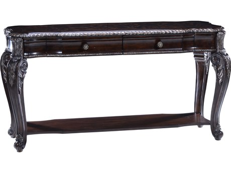 A.R.T. Furniture Gables 18th Century Cherry 60''L x 21''W Rectangular Console Table AT2453071707