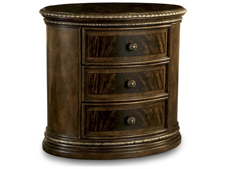 A.R.T. Furniture Gables 18th Century Cherry 32''W x 22''D Oval Nightstand AT2451431707