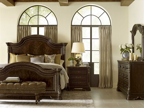A.R.T. Furniture Gables Panel Bed Bedroom Set