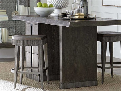 A.R.T Furniture Geode Kona and Facet 68''L x 34''W Rectangular Occo Mineral Kitchen Island AT2382542303
