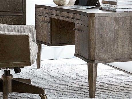 A.R.T Furniture Geode Kona 61''L x 31''W Rectangular Aura Executive Desk AT2388212303