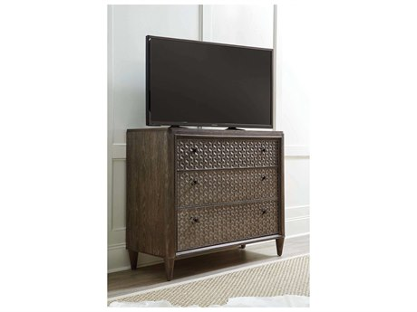 A.R.T Furniture Geode Kona and Facet 49''L x 19''W Rectangular Agate TV Stand AT2381522303