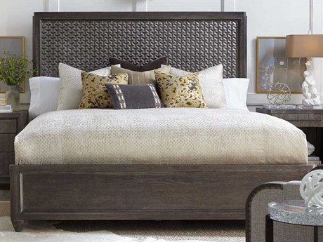 A.R.T Furniture Geode Kona and Facet California King Panel Bed