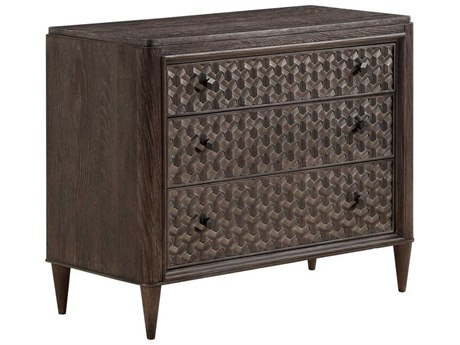A.R.T Furniture Geode Kona and Facet 39''W x 18''D Rectangular Agate Bachelors Chest AT2381582303