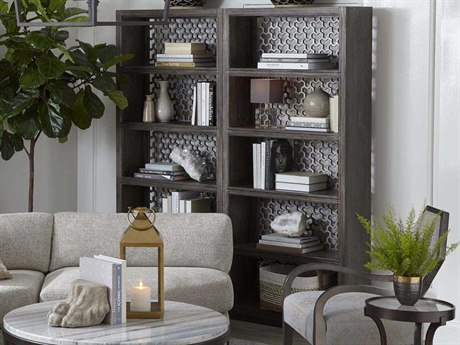 A.R.T Furniture Geode Kona and Facet Tourmaline Open Bookcase AT2388022303