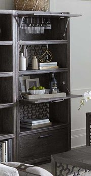 A.R.T Furniture Geode Kona and Facet Tourmaline Entertainment Bookcase AT2388032303