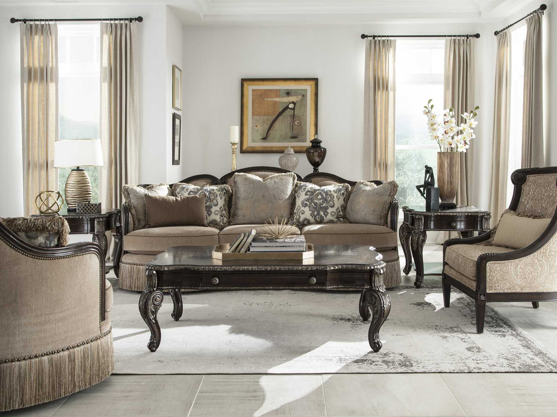 A R T Furniture Giovanna Azure Living Room Set At5095015527abset