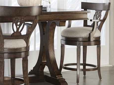 A.R.T. Furniture Kingsport Medium Oak Arm Counter Height Stool