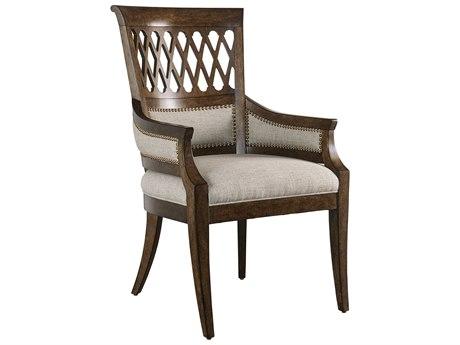 A.R.T. Furniture Kingsport Medium Oak Arm Dining Chair