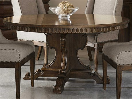 A.R.T. Furniture Kingsport Medium Oak 60'' Wide Round Dining Table