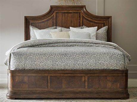A.R.T. Furniture Kingsport Medium Oak Queen Panel Bed