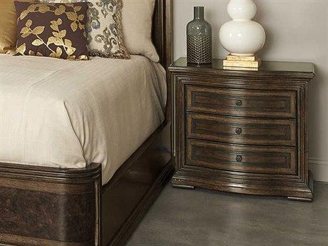 A.R.T. Furniture Kingsport Medium Oak Three-Drawer Nightstand