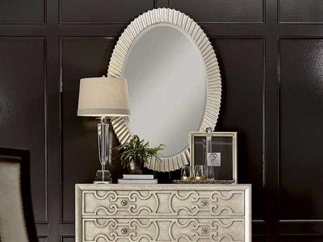 A.R.T. Furniture Morrissey Perrett Bezel 34''W x 48''H Oval Wall Mirror
