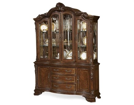 A.R.T. Furniture Old World Medium Cherry China Cabinet AT1432412606