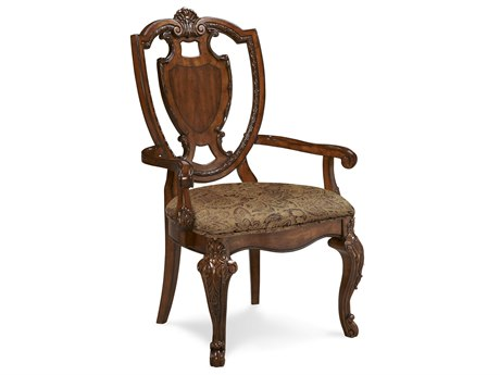 A.R.T. Furniture Old World Shield Back Dining Arm Chair (Sold in 2)