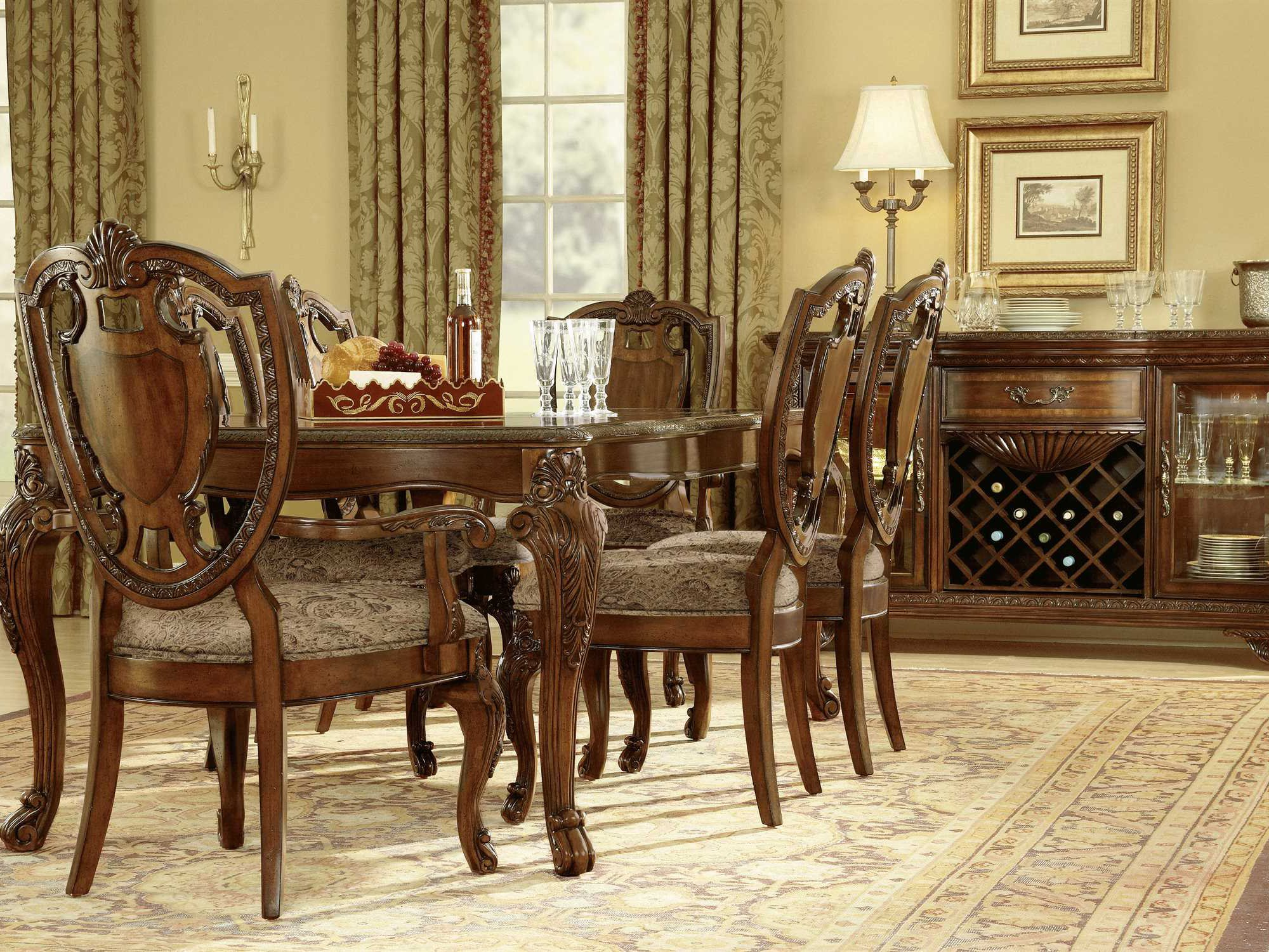 A R T Furniture Old World Dining Set