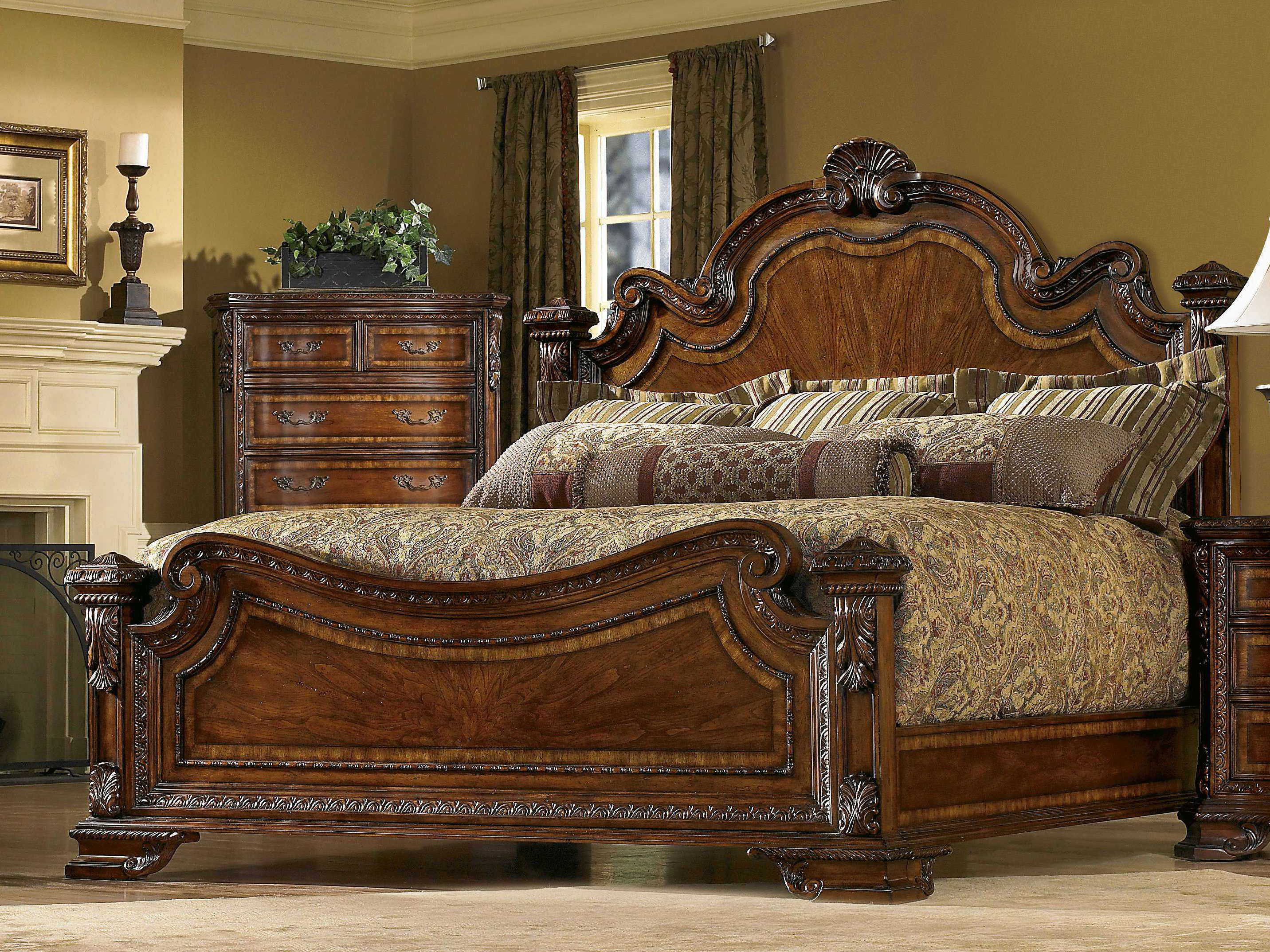 A.R.T. Furniture Old World Estate Queen Panel Bed