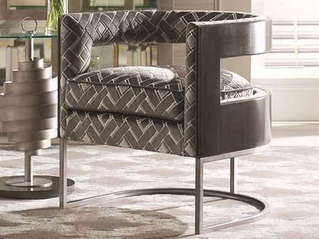 A.R.T. Furniture Prossimo Walnut / Metal Accent Chair