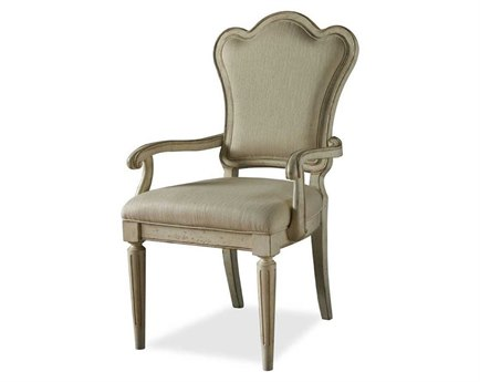A.R.T. Furniture Provenance Upholstered Back Dining Arm Chair (Sold in 2) AT1762072617