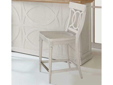A.R.T. Furniture Roseline Stucco White Counter Stool (Set of 2)