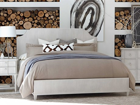A.R.T. Furniture Roseline Stucco White California King Panel Bed