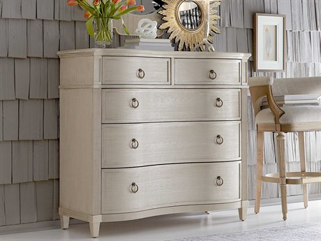 A.R.T. Furniture Roseline Mila Gold Shimmer Five Drawers Single Dresser AT2481582332