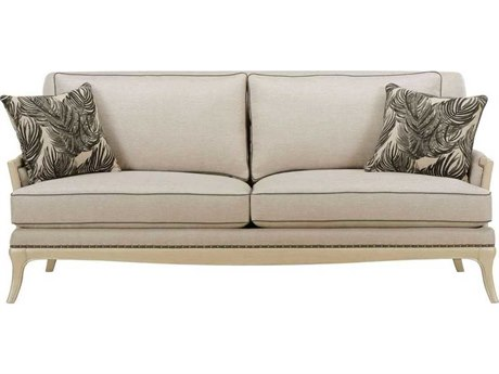A.R.T. Furniture Siena Shimmer Linen Sofa Couch