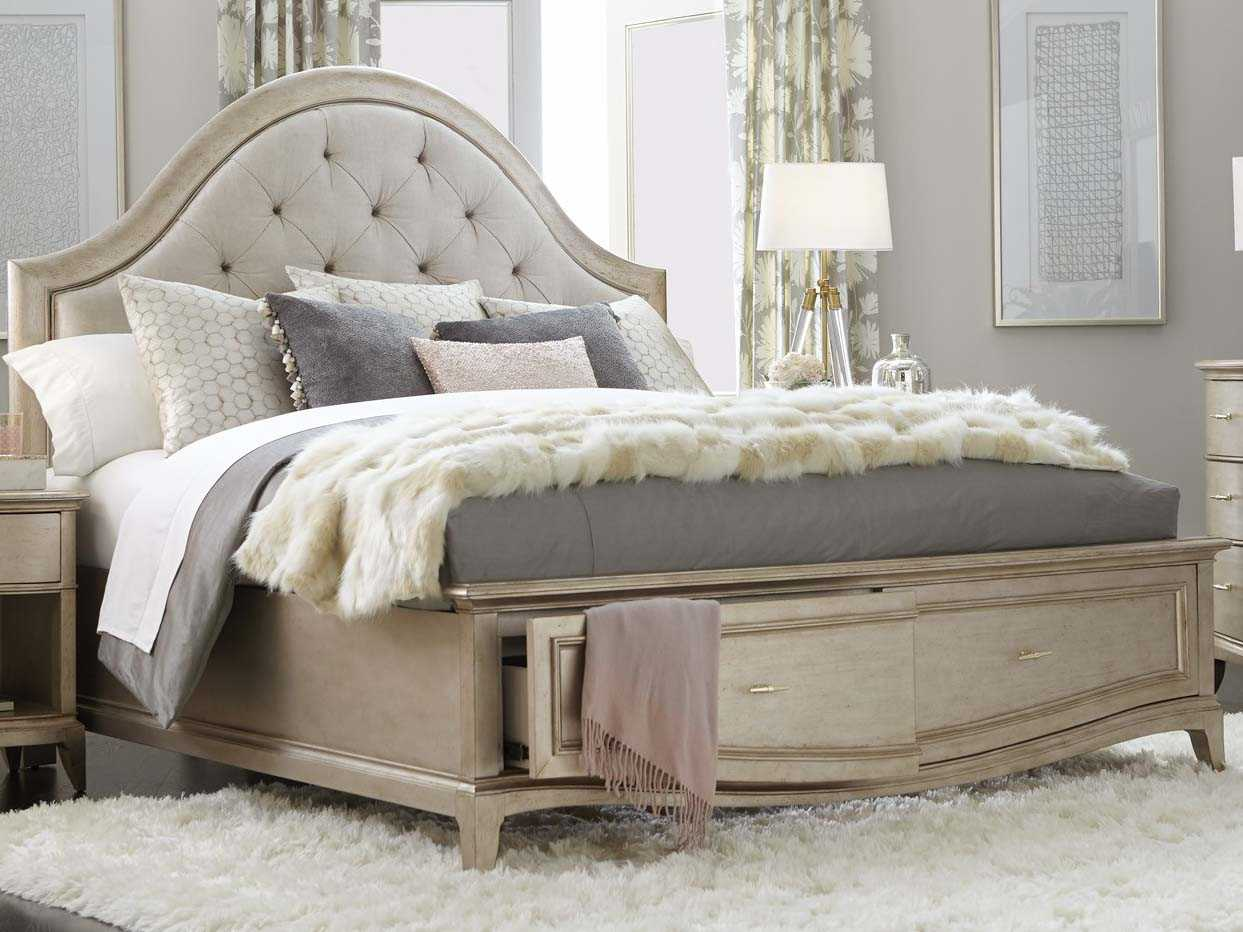 A.R.T Furniture Starlite Peri Queen Size Panel Bed With